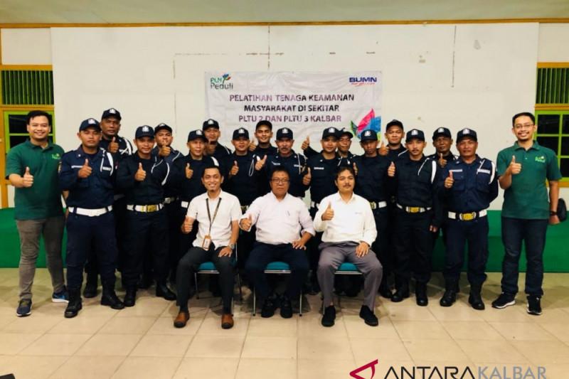 PLN UIP Kalimantan Bagian Barat latih tenaga satpam