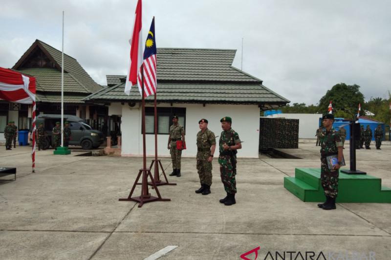 TNI dan Tentara Malaysia perkuat kerja sama jaga perbatasan