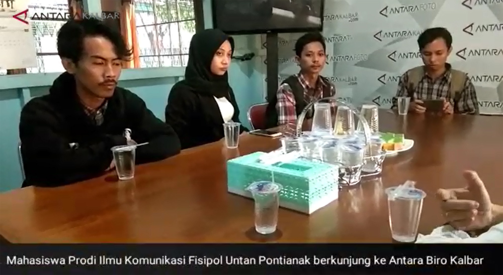 Media Visit ke Perum LKBN ANTARA