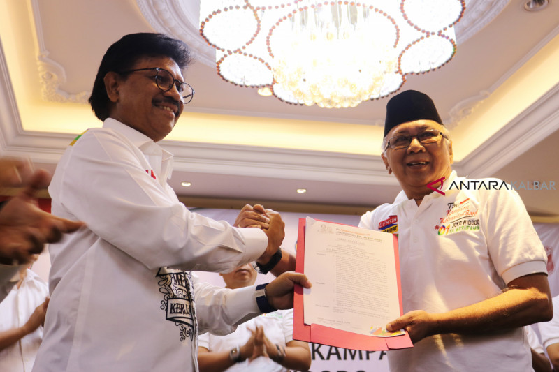 TKD Kalbar Optimis Menangkan Jokowi-KH Ma