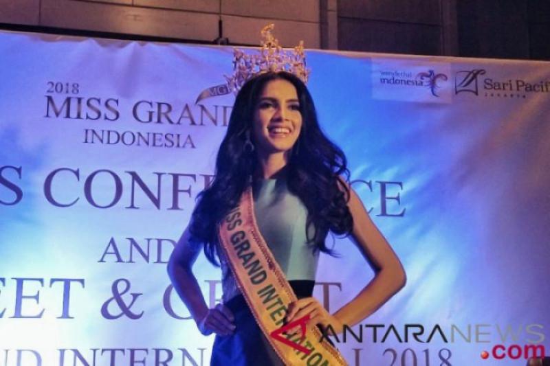 Miss Grand International 2018 berkunjung ke Indonesia