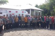 Kayong Utara clinic receives ambulance in grant from Japanese embassy