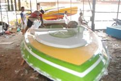 Pembuatan Speed Boat Bergairah