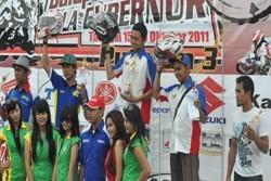 Pembalap Binuang Juara Umum MP1
