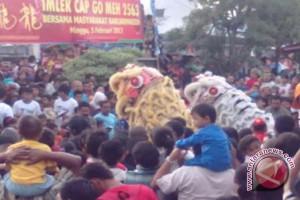 Barongsai Tontonan Gratis Masyarakat Banjar