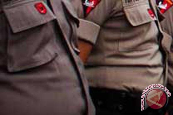 Polresta Banjarmasin Gelar Upacara Pemecatan