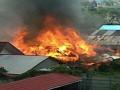 Sejumlah Ruko Di Kotabaru Hangus Terbakar