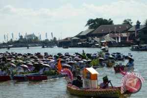 Banjarmasin Gelar Festival Jukung