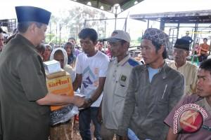44 Warga  Korban Kebakaran Banjar Dapat  Bantuan
