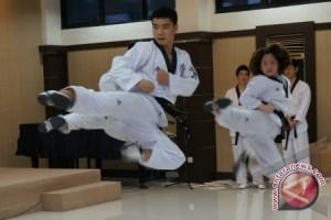 Taekwondo Kalsel Dikalahkan Kaltim Rebut Perunggu