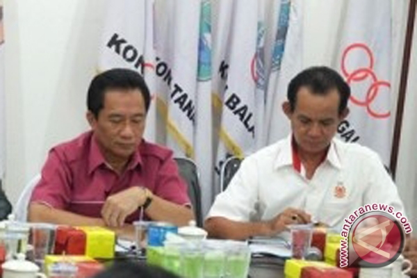 Koni Kalsel Bergerilya Mencari Dukungan Koni se-Indonesia