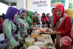 Wagub  Kampanye Gemar Makan Ikan