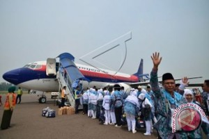 1.941 JCH Embarkasi Banjarmasin Sudah Diterbangkan