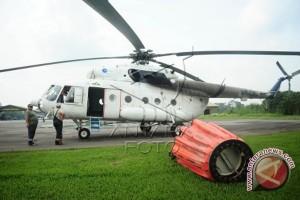BNPB Tempatkan Dua Helikopter Di Kalimantan Selatan