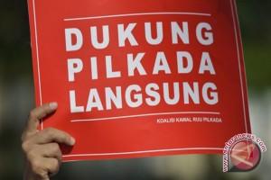 KPUD HSU Gaungkan Slogan Pilkada Damai