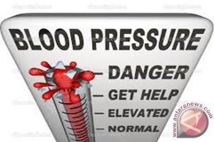 Warga Tapin Banyak Terkena Gejala Hipertensi