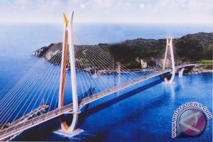Pembangunan Jembatan Selat Pulau Laut