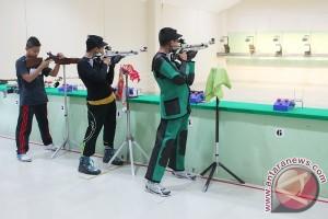 Menembak Kalsel Berjaya Dengan Tujuh Medali