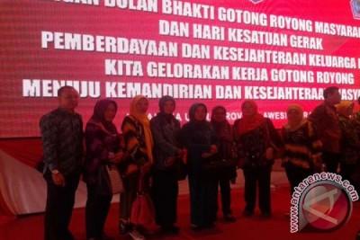 HSU Hadiri Peringatan BBGRM XII  di Minahasa