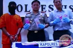 Polisi Gagalkan Peredaran Uang Palsu Miliaran Rupiah