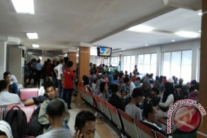 Terminal Kedatangan Bandara  Bocor
