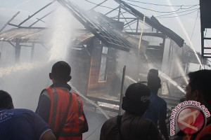 Fire in Banjarmasin Burnt Five Houses
