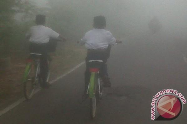 Smog begins to appear in Banjarbaru