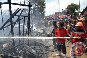 Kebakaran Landa Sekolah Dasar Di Martapura Kalsel