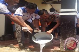 Polres Kotabaru Musnahkan 22,81 Gram Sabu-sabu