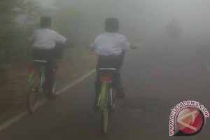 Smog begins to appear in Banjarbaru
