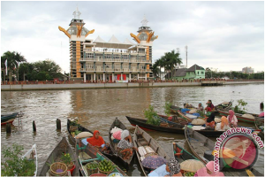 Kemenlu Dukung Promosikan Pariwisata Sungai Banjarmasin