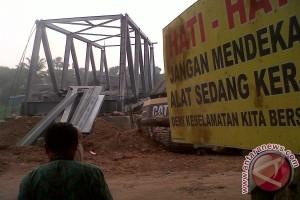 DPRD Banjarmasin Sidak Dua Jembatan Belum Selesai