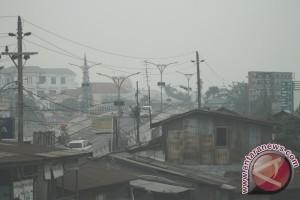 Kabut Asap Mulai Tampak Di Kalsel