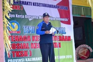 Temu Bhaksos TKSK Se-Kalsel Dalam Rangka HKSN 2015