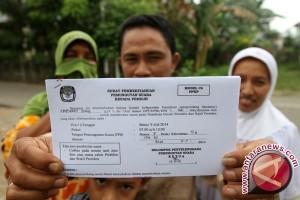 KPUD HSU Rekap 160.119 Daftar Pemilih Sementara