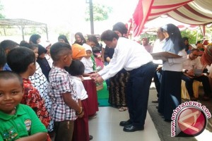 Pertamina Tanjung Beri Santunan 30 Anak Yatim