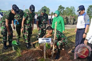 Kodim 1006 Martapura Planting Tree