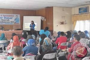 DPD KNPI HST Gelar Pelatihan Anggota Baru
