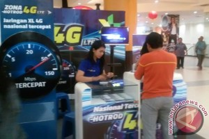 XL Gelar Roadshow 4G LTE di Duta Mall