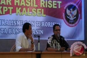 FKPT Kalsel paparkan Hasil Riset Radikalisme