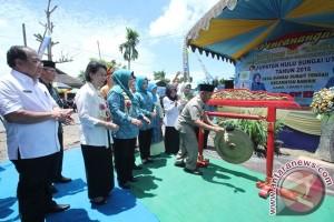 HSU Resmikan Kampung KB Mapan