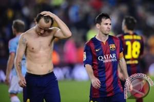 Barcelona Takluk 1-2 Dari Valencia
