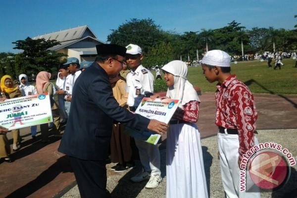 Penghargaan Siswa Berprestasi Antara News Kalimantan Selatan