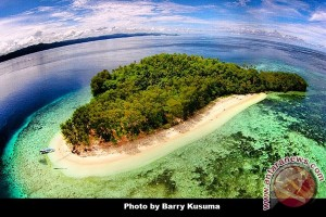 Pandallina: Keindahan Pulau Kelalawar Sorong Perlu Promosi