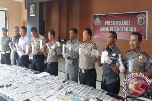 Polres Banjarbaru Tangkap Suami-istri Bandar Narkotika