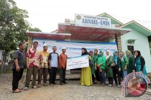 Bank Kalsel Bantu Sekolah Pelosok