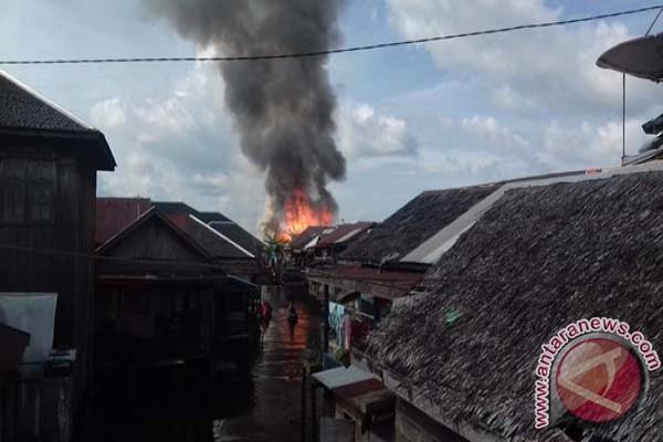 Banjar aids Aluh-aluh fire victims
