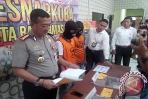 Polresta Banjarmasin Ringkus Dua Bandar Sabu