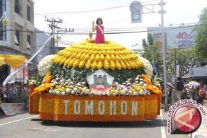 """27 Peserta  """"Tomohon International Flower Festival"""""""
