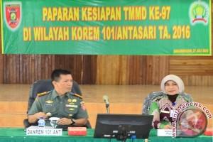 Bangun Desa TNI AD Gandeng Pemkab